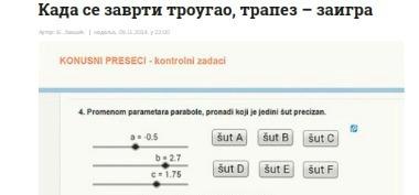Zanimljiva matematika u Politici
