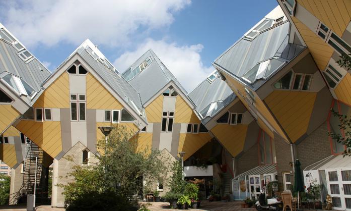 kockasto selo u Roterdamu